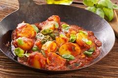 Kartoflany pizzaiola zdjęcia stock