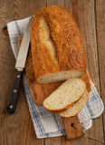 Kartoflany scallion chleb zdjęcie royalty free