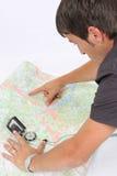 kartografia Zdjęcia Royalty Free