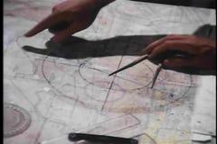 Kartografować out strategię wojskową zbiory wideo