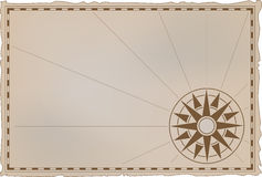 kartografuje starego ilustracja wektor