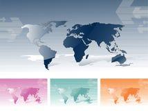 kartografuje świat Fotografia Royalty Free