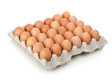 kartonów jajka fotografia stock