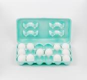 Karton der Zwangsstörungs-OCD Eier lizenzfreies stockfoto