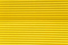 karton gofruje tekstury kolor żółty zdjęcie stock