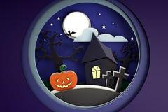 Karton Halloween Obrazy Stock