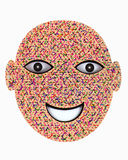 Karton maska Zdjęcie Royalty Free