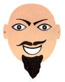 Karton maska Obraz Stock
