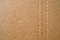 Karton met Geperforeerde Lijnen royalty-vrije stock afbeeldingen