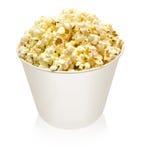 Karton popcorn Stock Foto