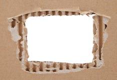 Karton rama Zdjęcie Royalty Free