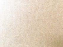 Kartondocument achtergrond of textuur Royalty-vrije Stock Foto