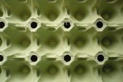 Kartondoos voor eieren - achtergrond Stock Afbeelding
