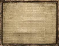 Kartonkader met Grenzenachtergrond royalty-vrije stock afbeeldingen