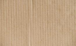 Kartonowa tekstura lub tło Obrazy Stock