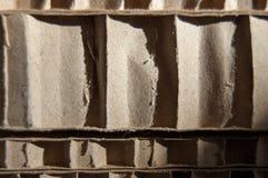 Kartonowa tekstura pożytecznie jako tło Zdjęcie Stock