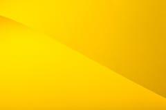kartonowy kolor żółty Zdjęcia Stock