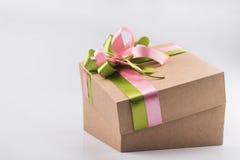 Kartonu prezenta pudełko Obrazy Stock