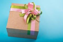Kartonu prezenta pudełko Zdjęcie Royalty Free