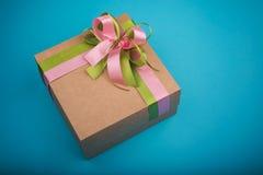 Kartonu prezenta pudełko Zdjęcia Stock