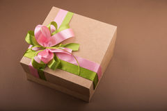 Kartonu prezenta pudełko Obrazy Royalty Free