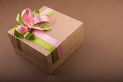 Kartonu prezenta pudełko Fotografia Royalty Free