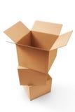 Kartony Zdjęcia Stock