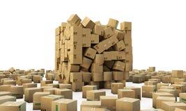 Kartony Zdjęcie Stock