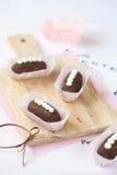 Kartoshka - παραδοσιακό ρωσικό γλυκό σοκολάτας Στοκ εικόνα με δικαίωμα ελεύθερης χρήσης