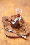 Kartoshka - παραδοσιακό ρωσικό γλυκό σοκολάτας Στοκ Εικόνες
