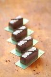 Kartoshka - Traditioneel Russisch Chocoladesnoepje Royalty-vrije Stock Afbeeldingen