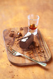 Kartoshka - Tradycyjny Rosyjski Czekoladowy cukierki Obrazy Stock