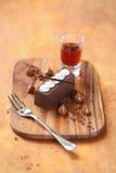 Kartoshka - Tradycyjny Rosyjski Czekoladowy cukierki Obrazy Royalty Free