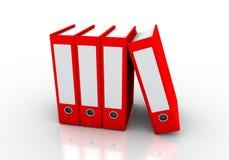 Kartotek falcówki Obraz Stock