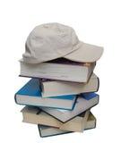 kartoteka książkowy kapelusz Obrazy Stock