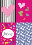 karty cztery Fotografia Royalty Free