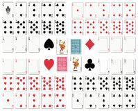 karty grać ilustracji
