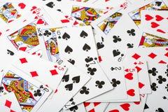 karty grać Zdjęcie Stock