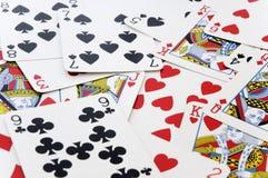 karty grać Zdjęcie Royalty Free