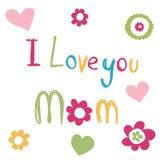 karty jest dzień matki Obrazy Royalty Free