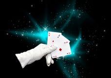 karty magii Zdjęcie Stock