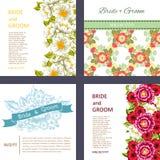 karty poboru ślub ilustracyjny Obraz Stock