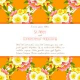 karty poboru ślub ilustracyjny Zdjęcie Stock
