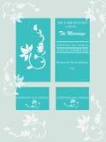 karty poboru ślub ilustracyjny Fotografia Stock