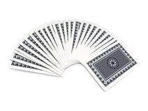 karty pokładowe grać Zdjęcia Royalty Free