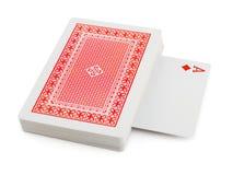 karty pokładowe grać zdjęcie stock