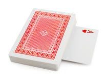 karty pokładowe grać obraz stock