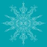 karty też świąteczne wektora projektów zimy Koronkowy płatek śniegu Royalty Ilustracja