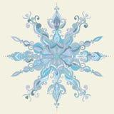 karty też świąteczne wektora projektów zimy Koronkowy płatek śniegu Ilustracja Wektor