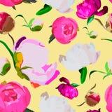 Karty z peoniami Zdjęcie Royalty Free